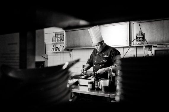 In der Küche des Carlo 615