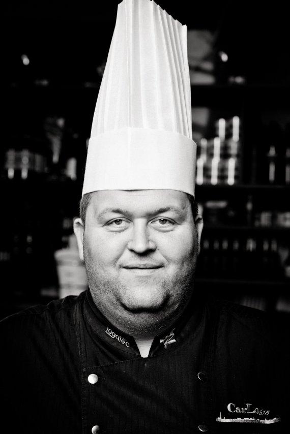 Koch Carsten Loll mit Mütze