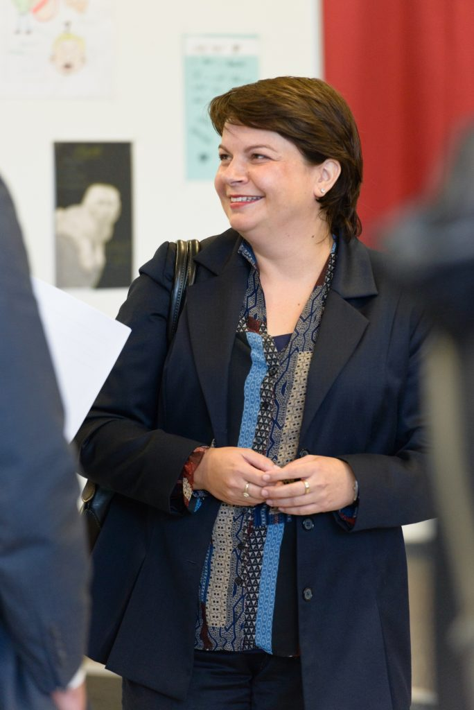Ministerin Stefanie Drese